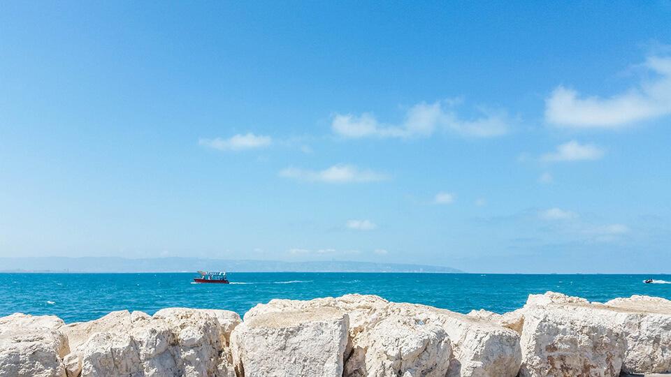 море, Израиль, Хайфа, отпуск, отдых