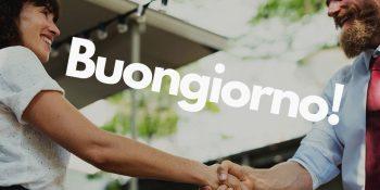 Фразы приветствия и знакомства на итальянском
