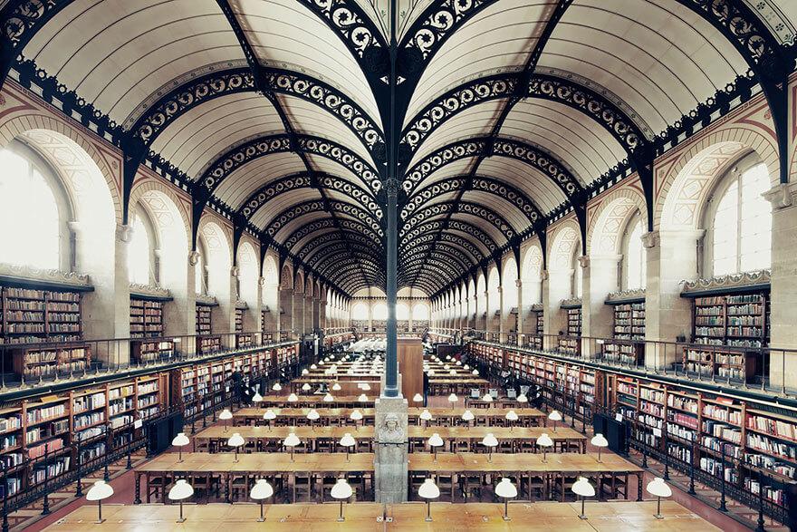 самые красивые библиотеки мира
