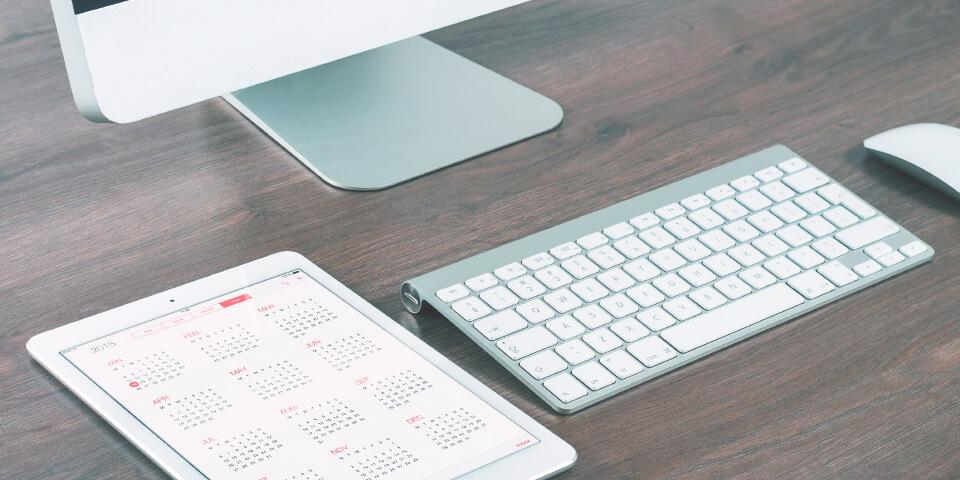 календарь, компьютер
