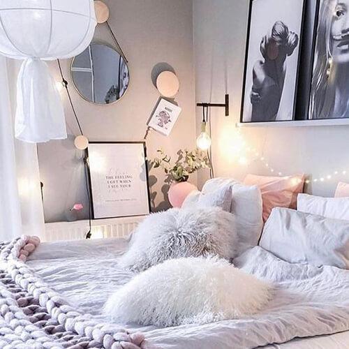 идеи для зимы, спальня