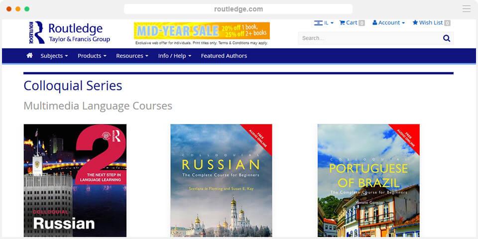 учебники colloquial series, изучение иностранных языков с нуля