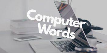 компьютерный английский