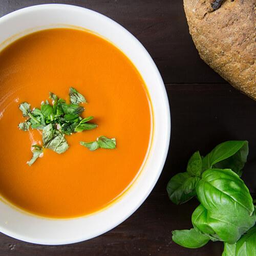 идеи для зимы, крем суп