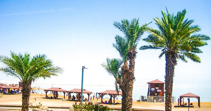 Пляж на Мертвом море