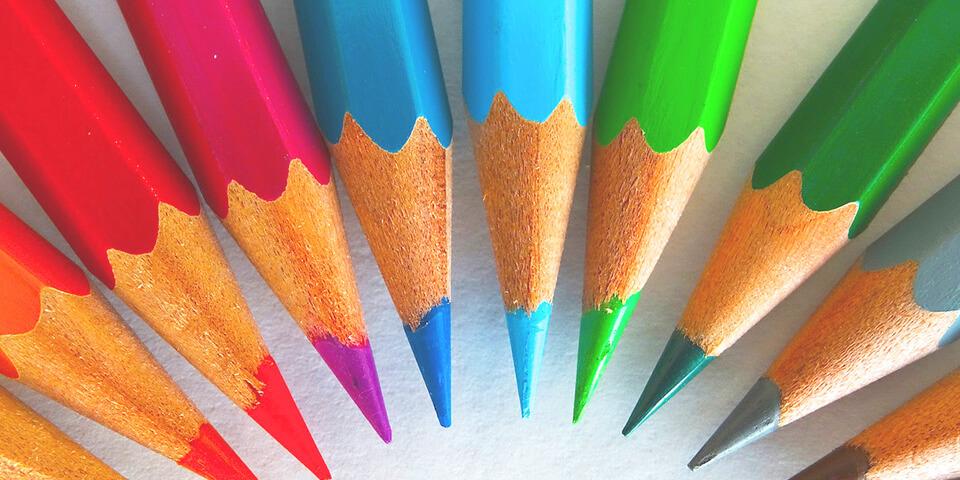 карандаш, цвет, рисунок