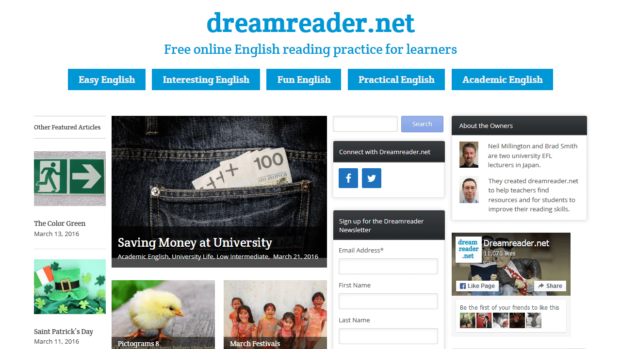 dreamreader.net