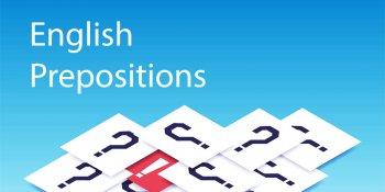 тест на знание английских предлогов