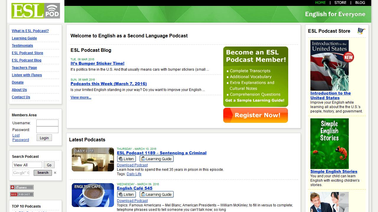 eslpod.com