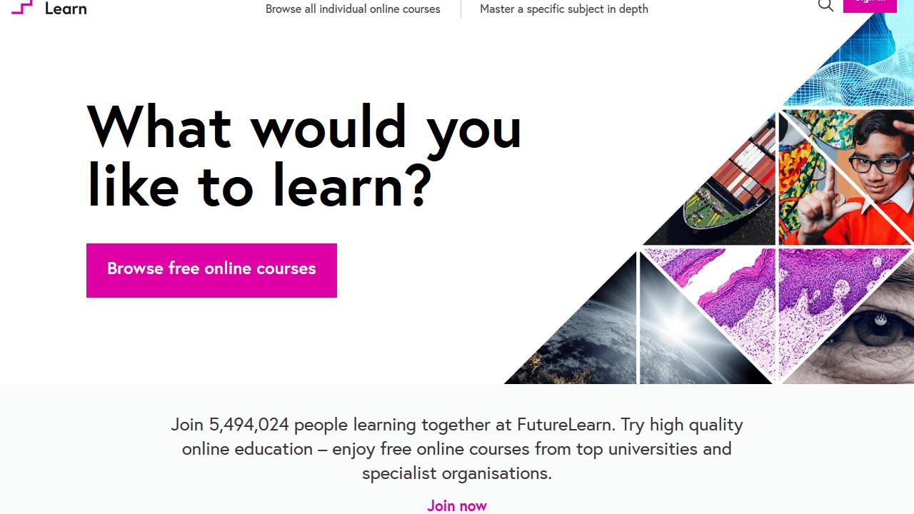 future learn, курсы