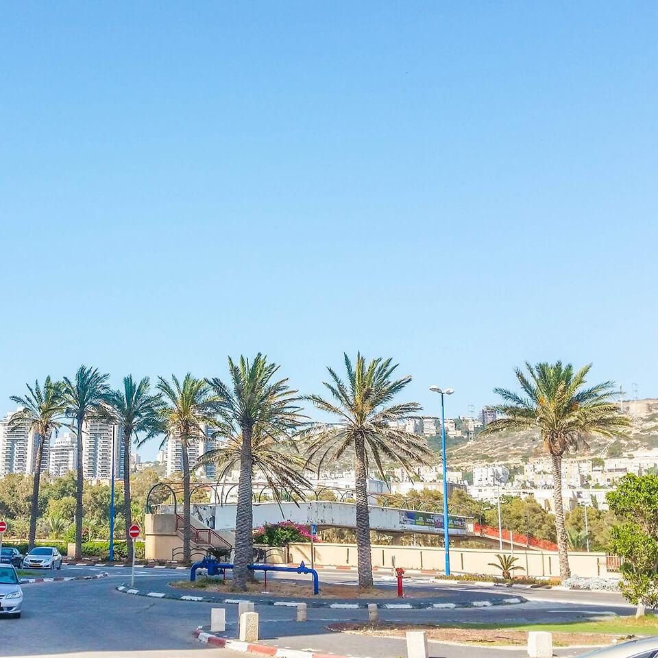 хайфа, израиль, лето
