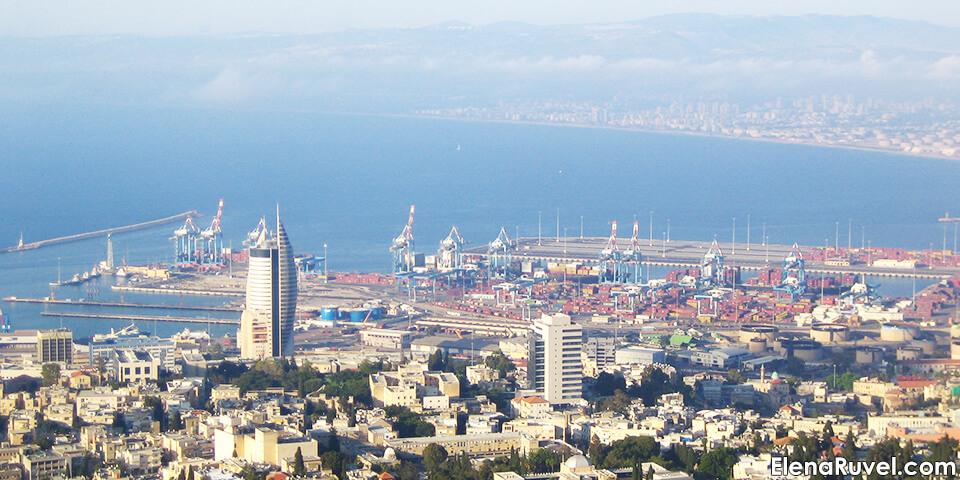 хайфа, море, израиль