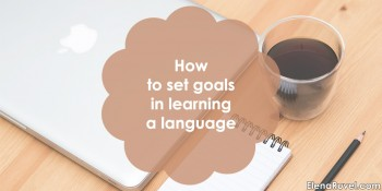 How to set goals in learning a language