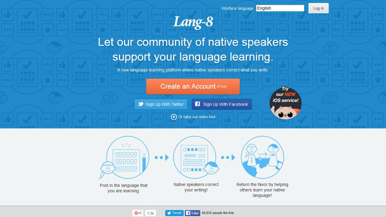 lang-8.com