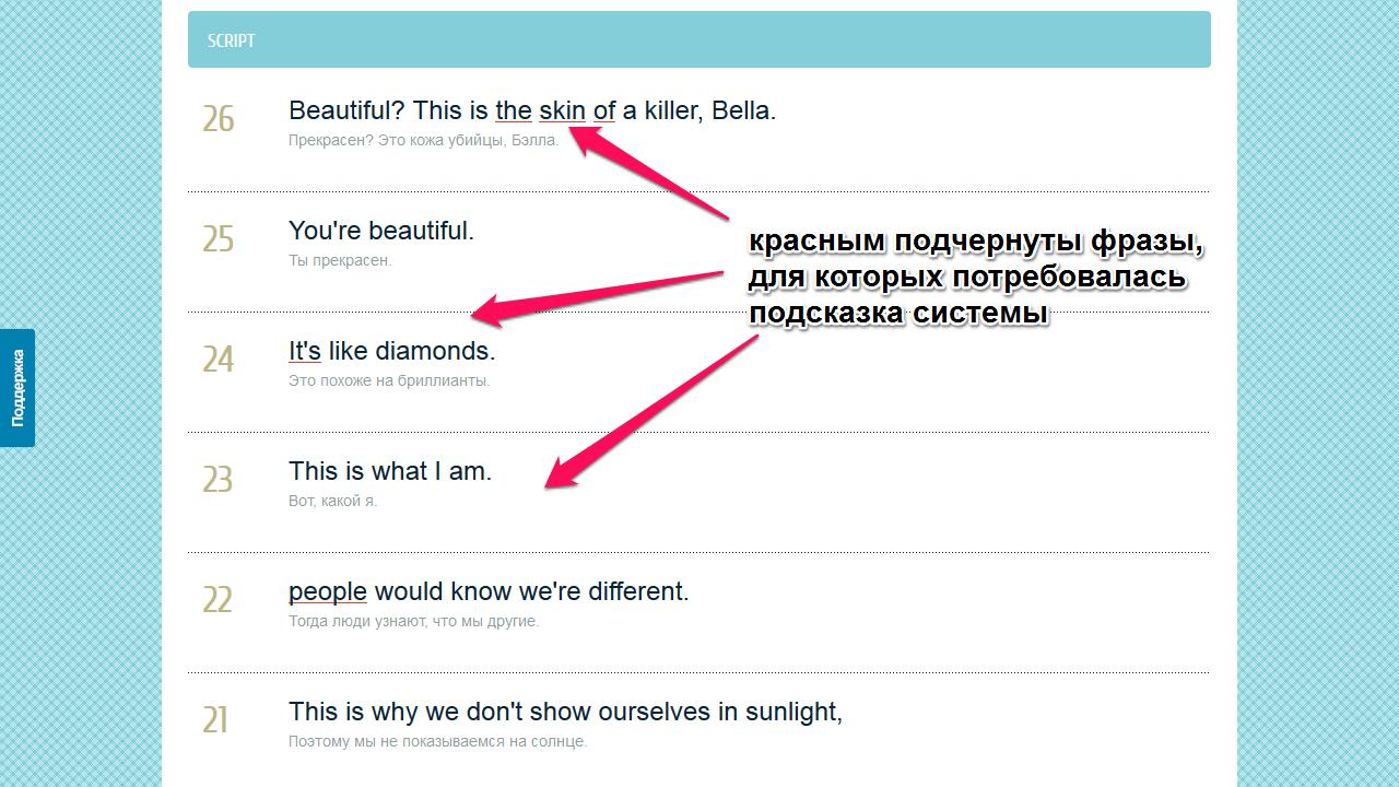 Английский по фильмам, субтитры на русском и на английском