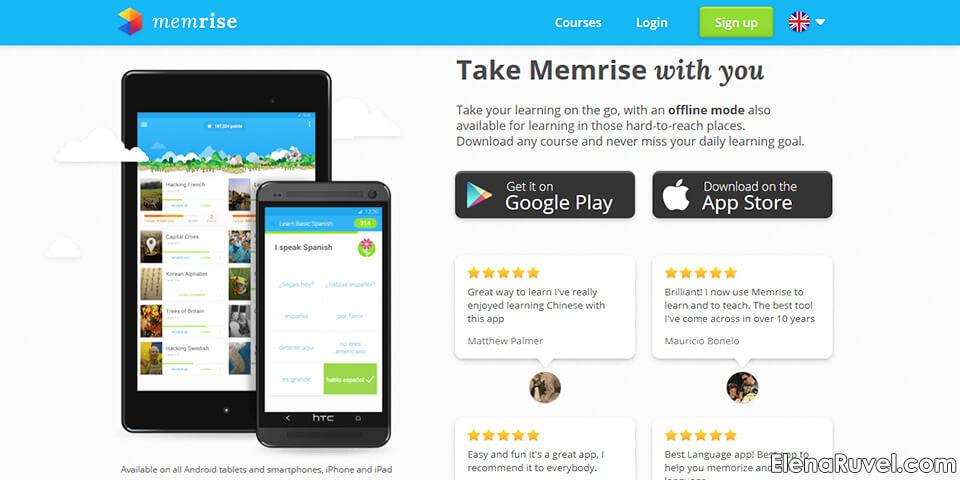 memrise application