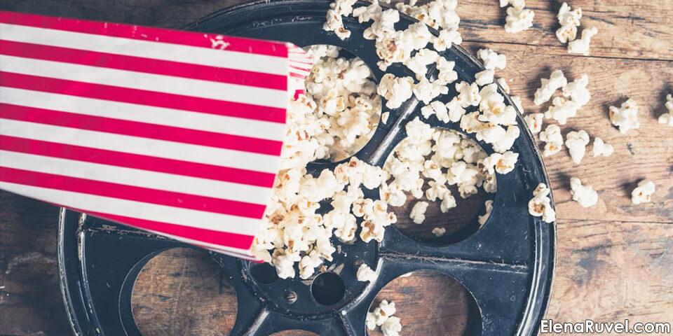 кино, фильмы, попкорн