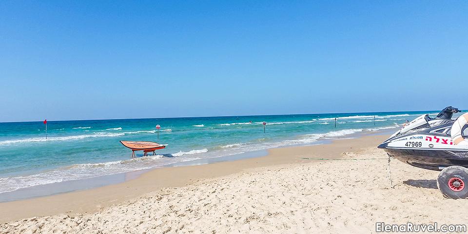 Нетания, Израиль, море