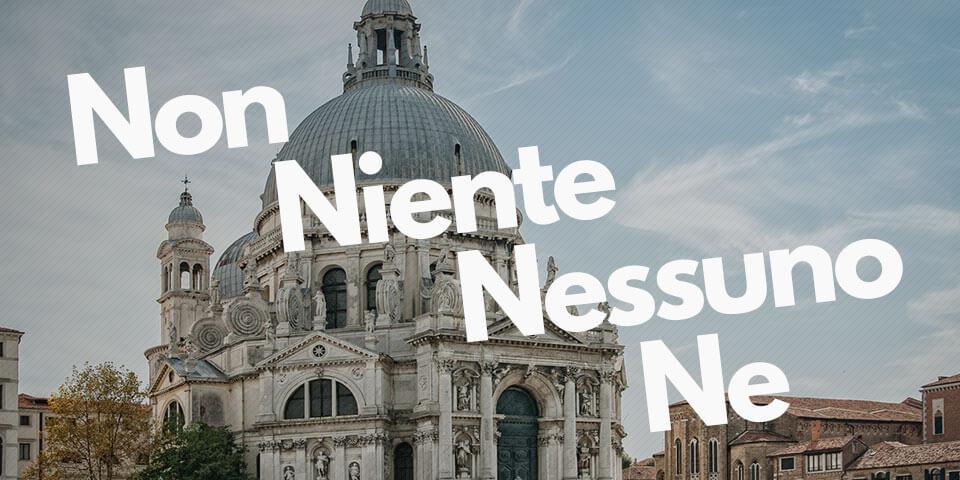 Отрицание в итальянском языке