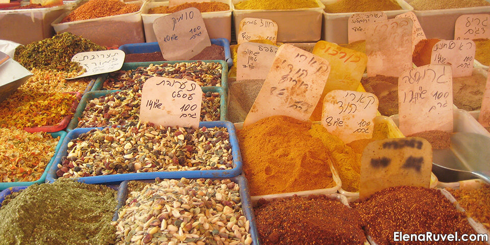 израиль, тель-авив, хайфа, специи, рынок