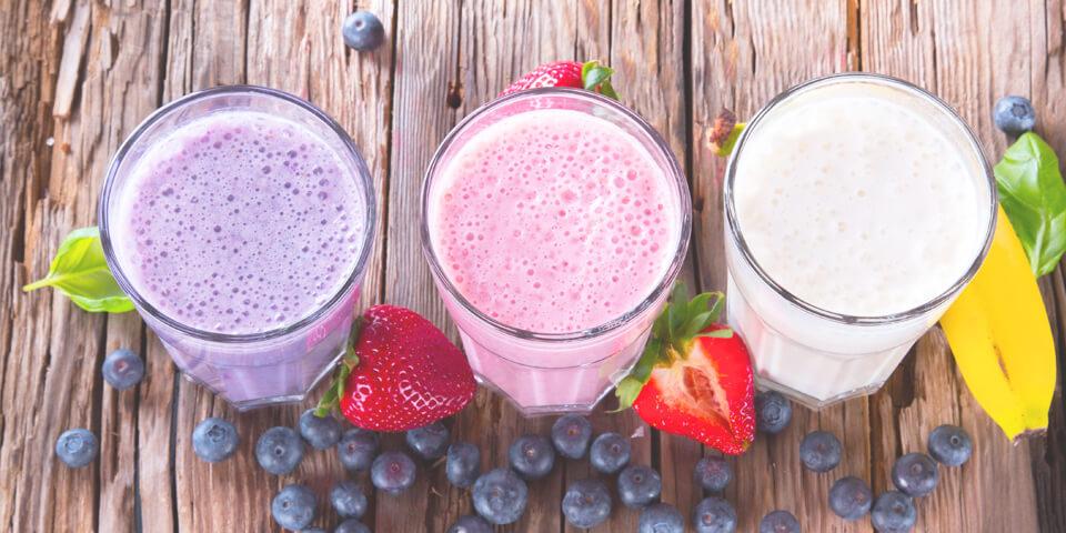 завтрак, смузи, фруктовый коктейль, сок, фрукты, лето, здоровье