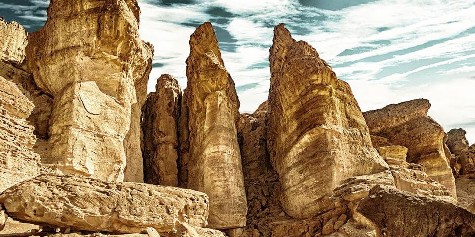 эйлат, израиль, соломоновы столбы