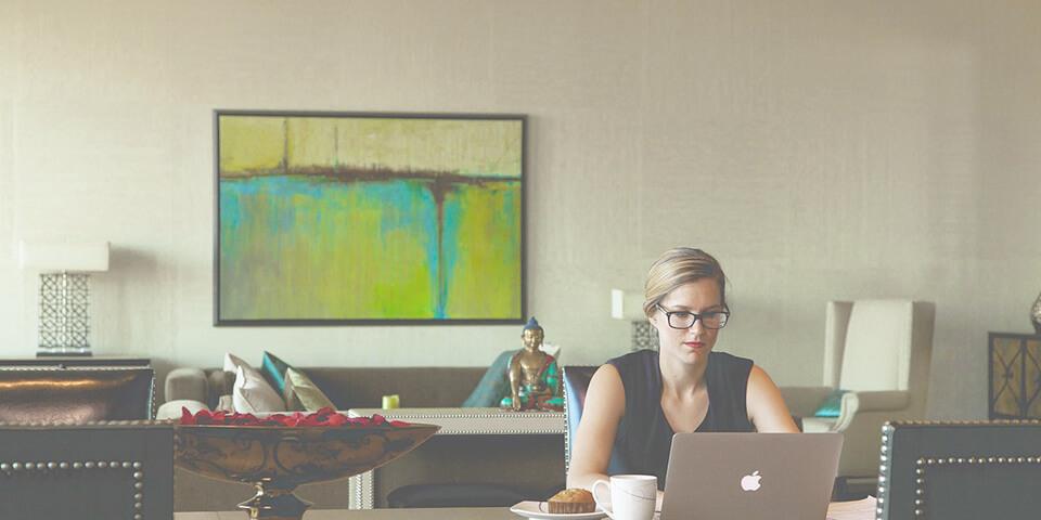 учитель, работа, урок, ноутбук, кофе