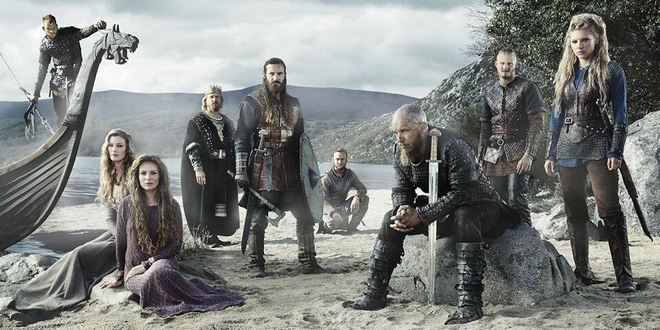 сериалы на английском, викинги