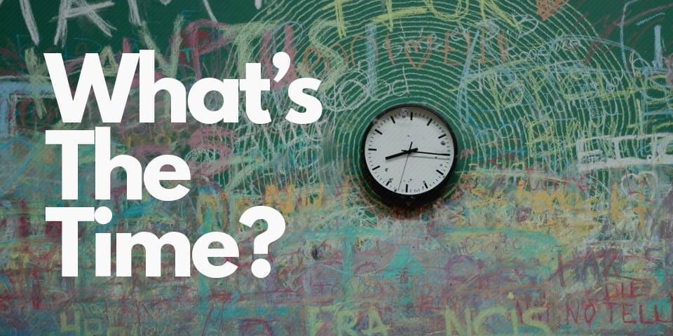 как спросить время по-английски, как назвать время по-английски