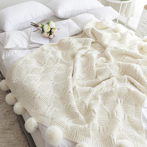 идеи для зимы, теплое одеяло