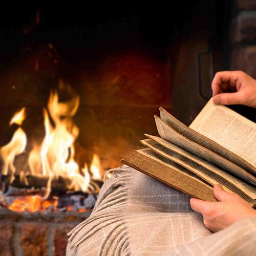 идеи для зимы, книги, чтение